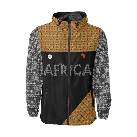 Africa Kente Windbreaker