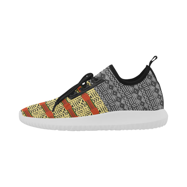 Men's Mud and Kente Fusion Running Shoes