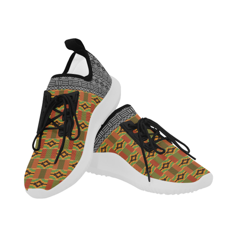 Men's Kente-Mud Cloth Running Shoes