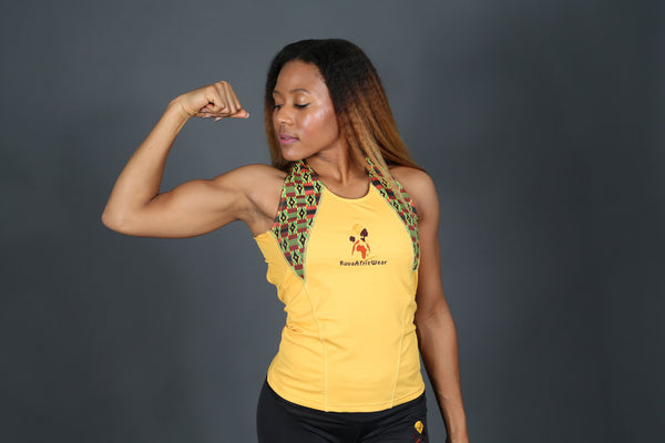 Women active wear Kente top