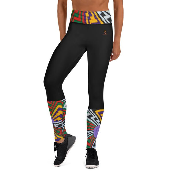 Mesob (Woven Basket) Yoga Leggings