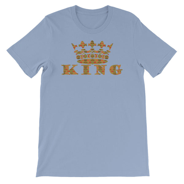 King Kente Print Short-Sleeve T-Shirt