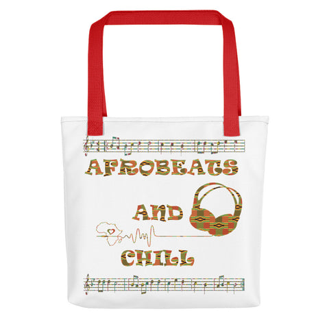 Afrobeats and Chill Tote bag