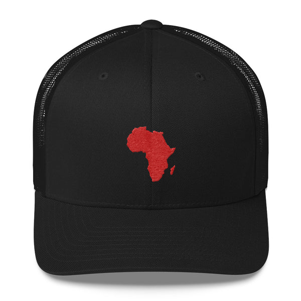 African Map Trucker Cap