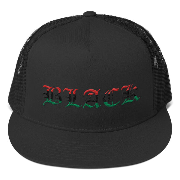 Black Pride Trucker Cap