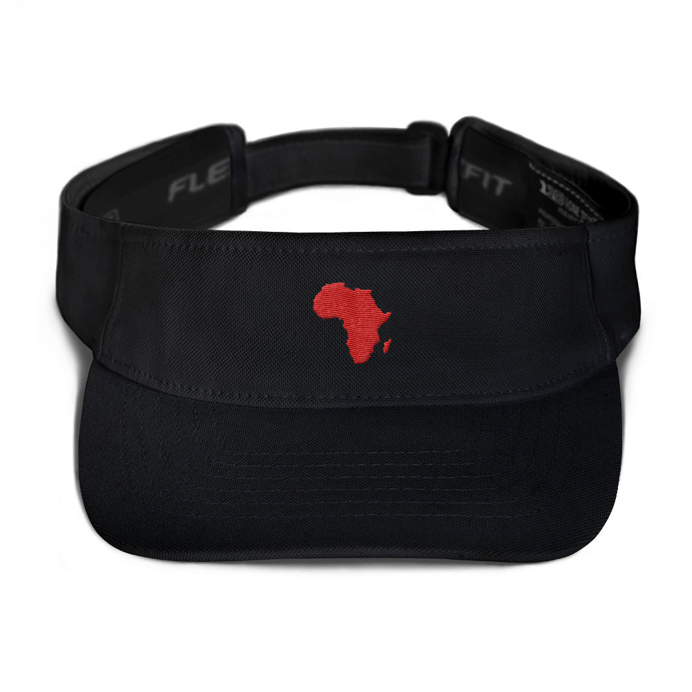 African Map Flexfit 8110 Visor