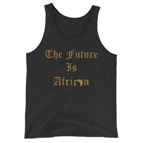 The Future is African Kente Print Unisex  Tank Top