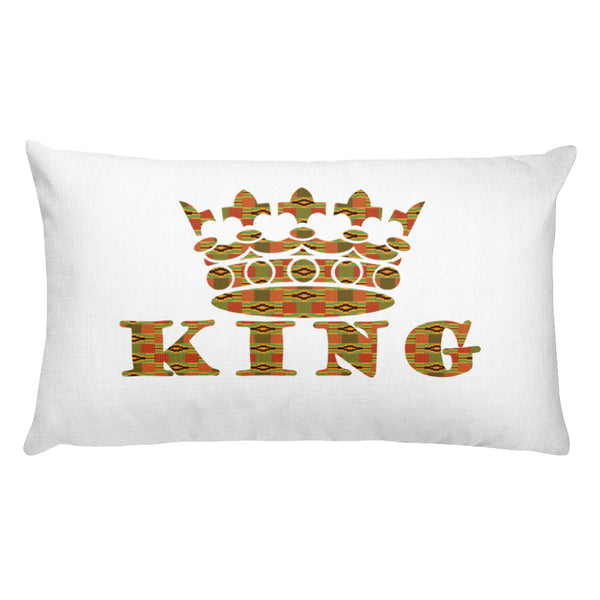 Kinte Kente Print Rectangular Pillow