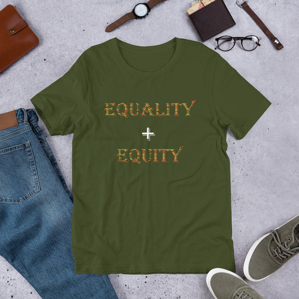 Equality + Equity Short-Sleeve Unisex T-Shirt