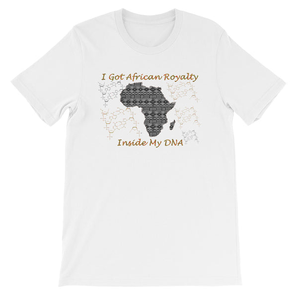 African Royalty DNA Unisex T-Shirt