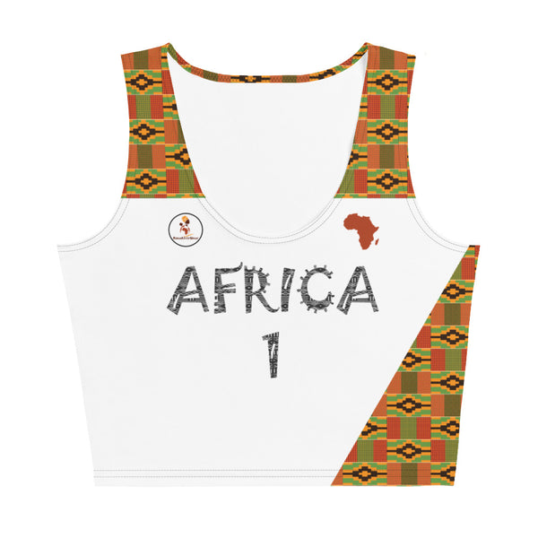 Africa Away Jersey Crop Top