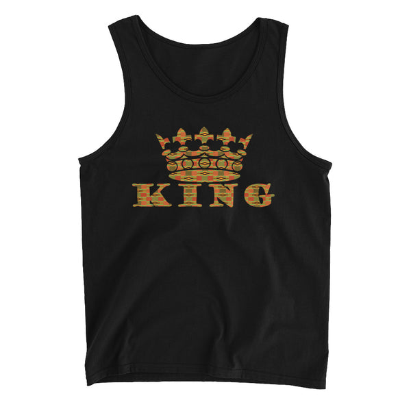 King Kente Print Men's Tank Top