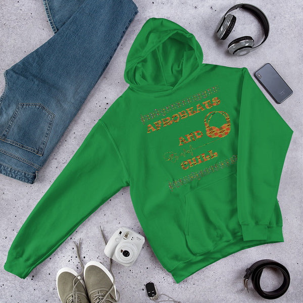 Afrobeats & Chill Hooded Sweatshirt