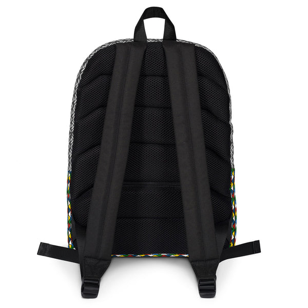 Zulu and Mud Cloth Fusion Backpack