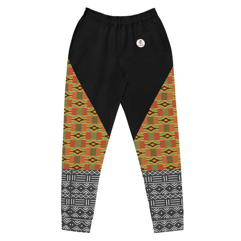 Kente and Mud Cloth Women's Joggers