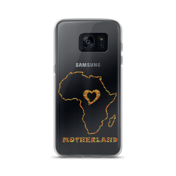 Heart Motherland African Map Samsung Case