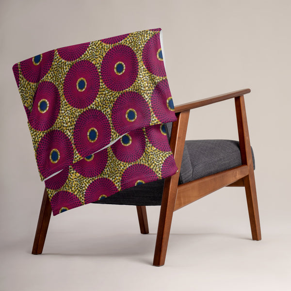 Ankara Throw Blanket