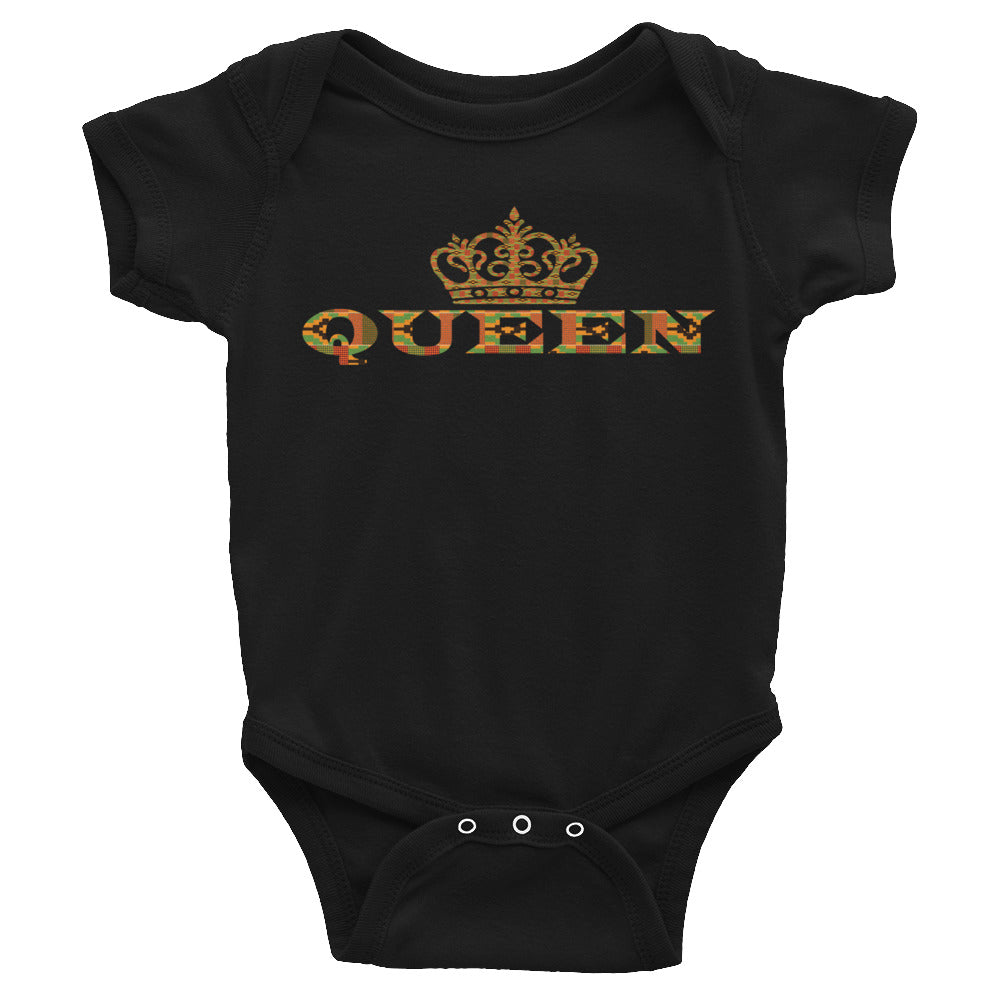 Queen Kente Print Infant Bodysuit