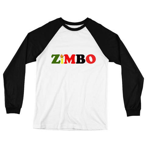 Zimbo Long Sleeve Baseball T-Shirt
