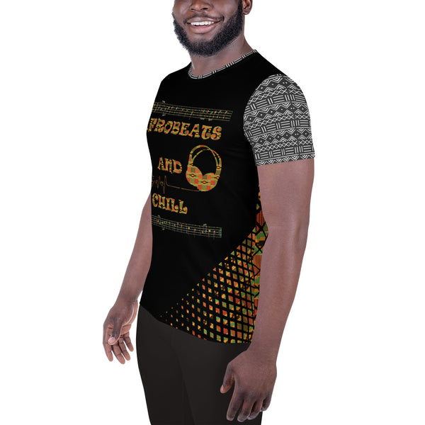 Afrobeats & Chill Men's Athletic Jersey