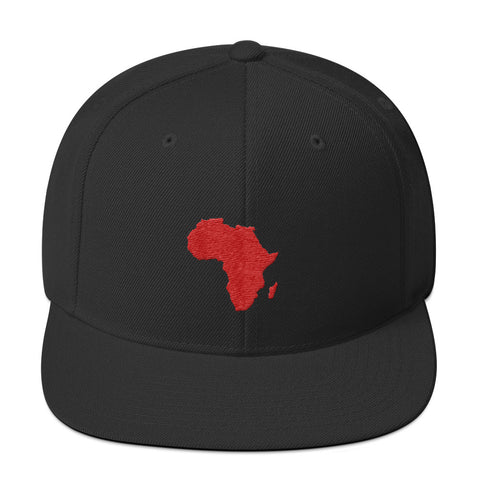 African Map Snapback Hat