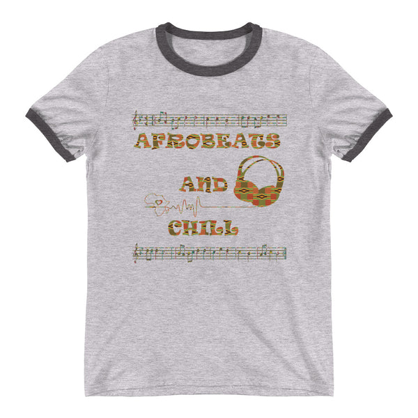 Afrobeats and Chill Ringer T-Shirt
