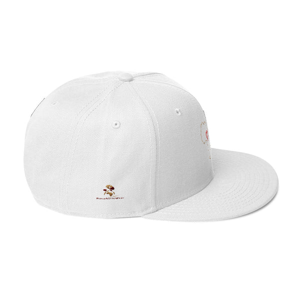 Heart Africa Snapback Hat