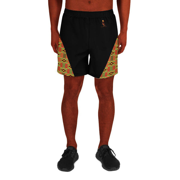 Kente Triangle Men's Athletic Shorts