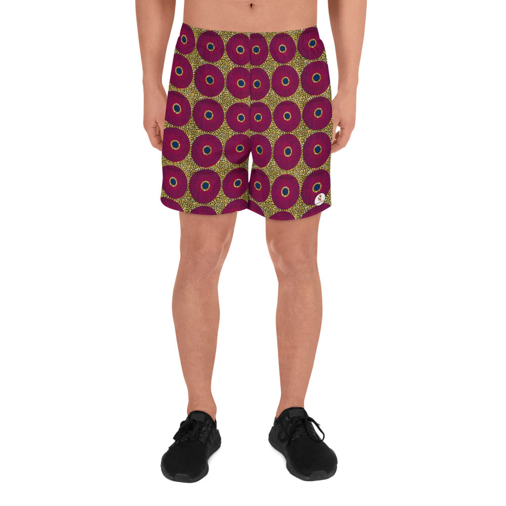 Ankara Circles Men's Athletic Shorts