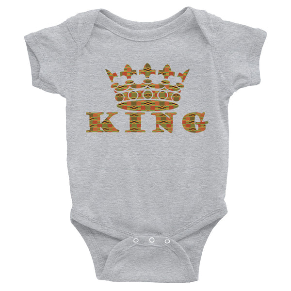 King Kente Print Infant Bodysuit