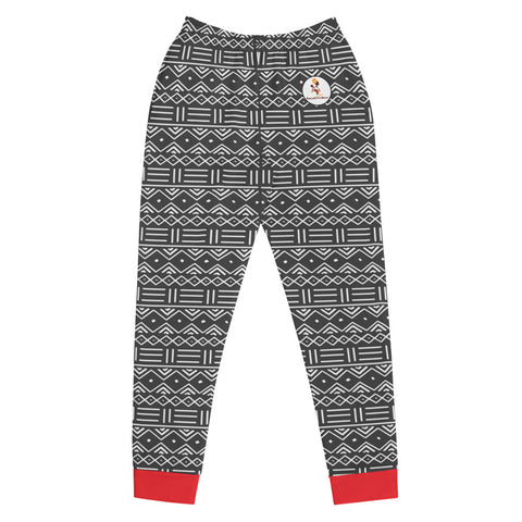 Women's Mud Cloth Print Joggers