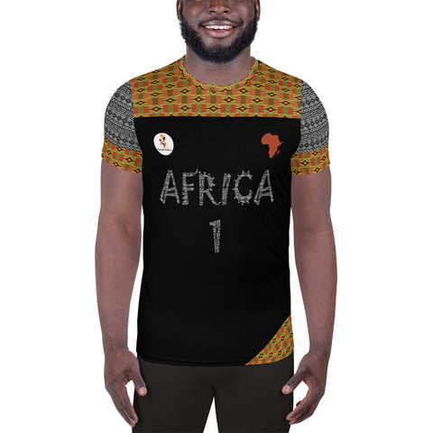 Africa Men's Soccer Training Jersey