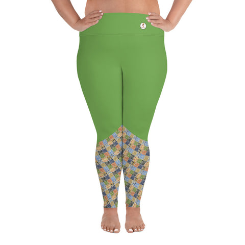 Zim Hari Plus Size Leggings