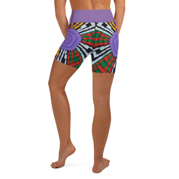 Mesob (Woven Basket) Women's Yoga Shorts