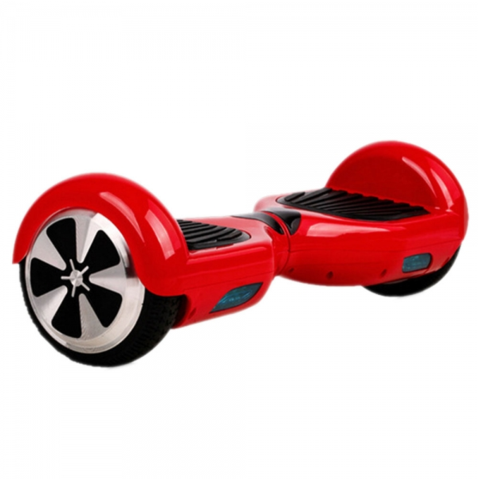 Self Balancing Hoverboard Scooter - Cruiser Edition (Red) - Hover Board Stop - 1