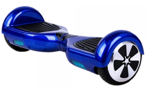 Self Balancing Hoverboard Scooter - Cruiser Edition (Blue) - Hover Board Stop - 1