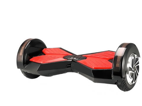 "8"" Black on Red Lamborghini Hoverboard w/ Bluetooth - Hover Board Stop - 1"