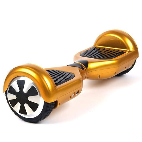 Self Balancing Hoverboard Scooter - Cruiser Edition (Gold) - Hover Board Stop - 1