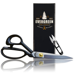Evergreen Art Supply Super Scissors - Sewing Fabric Quilting Arts Crafts