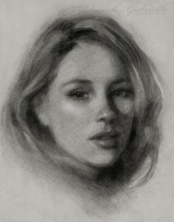 Artwork by Gabrielle - Sketch Portrait
