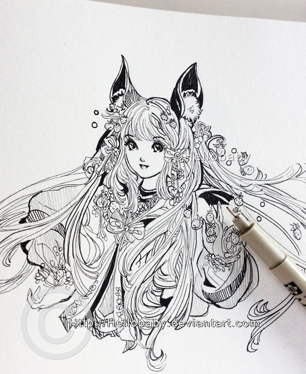 Artist Spotlight - Hellobaby Traditional Art