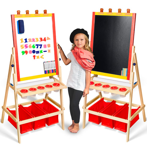 Kids Deluxe Easel Set w/ Goodies