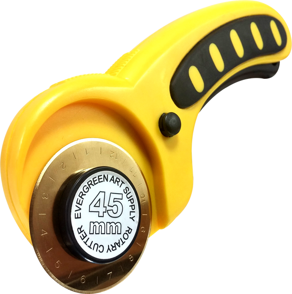 New and Improved! Ultra-Durable Titanium Coated 45mm Rotary Cutter