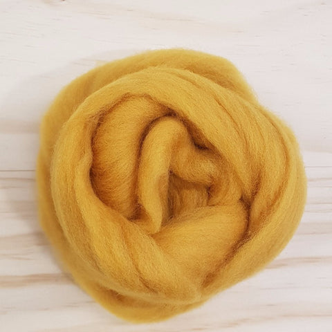 Yarn | Roving - Colour Accent 25gm - Mustard