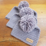 Timeless Collection - Arlo Hat - Dove Grey