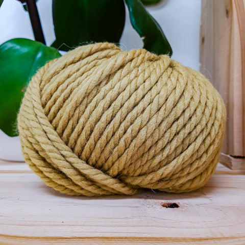 Yarn | Rowan Big Wool - Golden Olive (088)