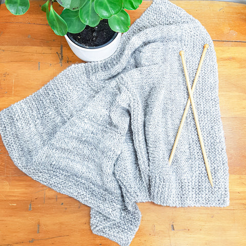 Pattern // Handspun Baby Blanket - FREE DIGITAL COPY