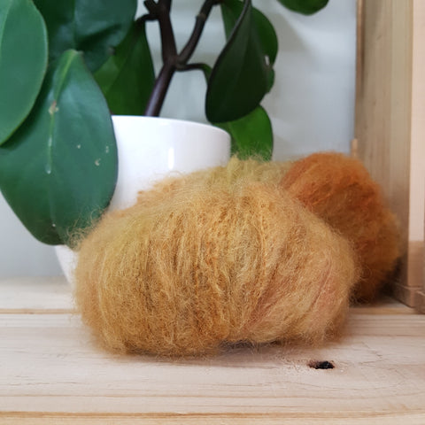 Yarn | Touch - 12 ply Mohair Merino - Maple
