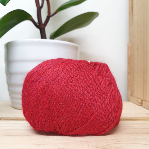 Yarn | Muhu 8ply Baby Alpaca - Red