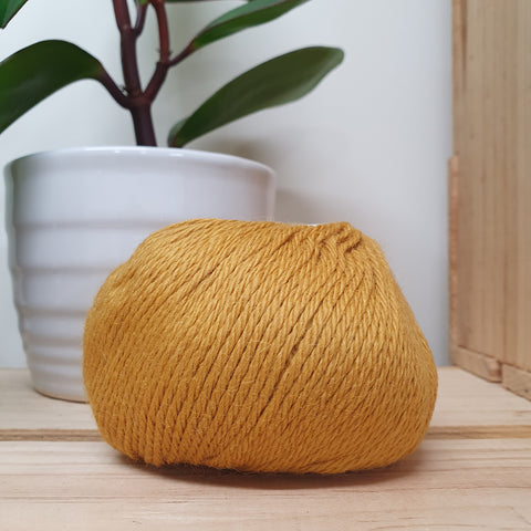 Yarn | Muhu 8ply Baby Alpaca - Butterscotch